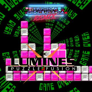 Lumines: Puzzle and Fusion (PSP)