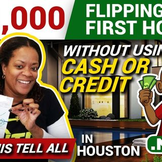 Wholesaling Real Estate With No Money - $28,000 BIG ONES on Her 1st Deal
