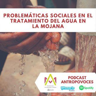 Problemáticas sociales en el tratamiento del agua en La Mojana