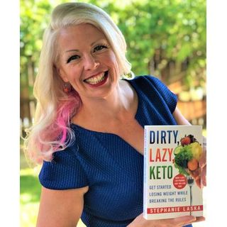 Mitchell Rabin Interviews Dirty, Lazy Keto author Stephanie Laska
