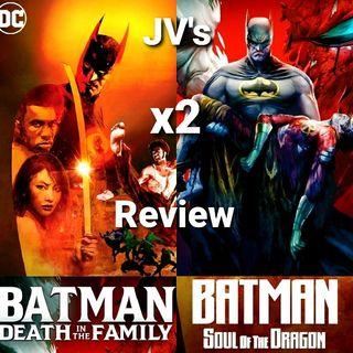 Episode 92 - Batman: Death In The Family/ Batman: Soul Of The Dragon Review