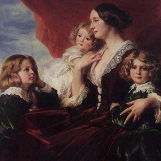 Walentynki w MNW #4 - Franz Xaver Winterhalter, portret Elizy Krasińskiej z dziećmi