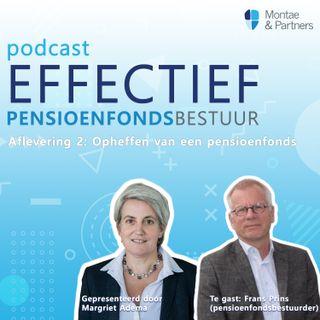Het opheffen van een pensioenfonds - Margriet Adema & Frans Prins