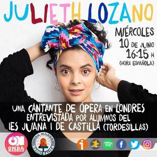 04RB- Julieth Lozano. Pasión y música