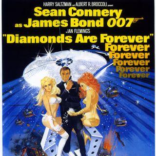 PODCAST CINEMA | Saga James Bond | CRITIQUE DU FILM LES DIAMANTS SONT ÉTERNELS