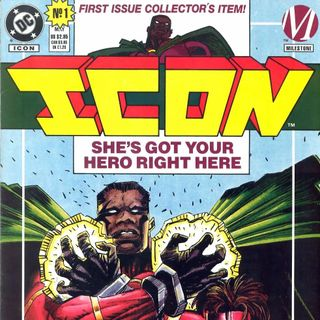 """Unspoken Issues #34 - """"Icon"""" #1"""