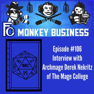 Interview with Archmage Derek of the Mage College