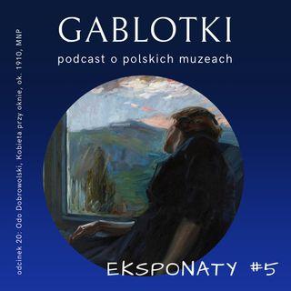 20. EKSPONATY #5: Odo Dobrowolski, Kobieta przy oknie, ok. 1910, MNP
