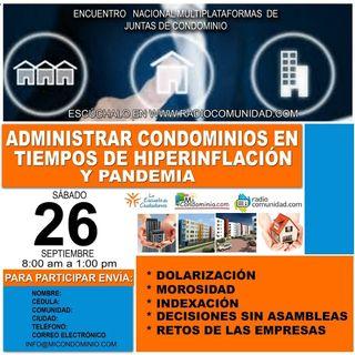 Los Condominios y Derecho Informático  asambleas virtuales firma electronica  derecho inmobiliario