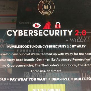 Humble Book Bundle: Cybersecurity 2.0 By Wiley