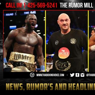 ☎️RUMOR: Wilder Wants💰$10 Million 💵Plus GUARANTEED Shot @ Fury-Joshua to Step Aside😱