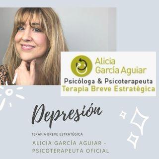 La depresión: un estado de rendición. ¿Qué hacer? - Terapia Breve Estratégica - Alicia García Aguiar, Psicoterapeuta Oficial