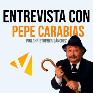 Entrevista con Pepe Carabias, por Christopher Sánchez