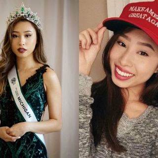 Miss Michigan Kathy Zhu Stripped Of The Crown Amid Racist, Islamophobic Tweets. Enjoy The Barbeque!✌😎🔥
