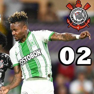 Corinthianocast 02 - Atlético Nacional x Corinthians