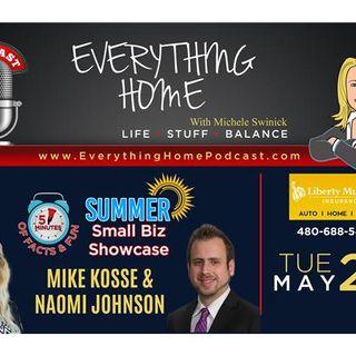 MAY 29: LIBERTY MUTUAL INSURANCE - AUTO - MIKE KOSSE & NAOMI JOHNSON