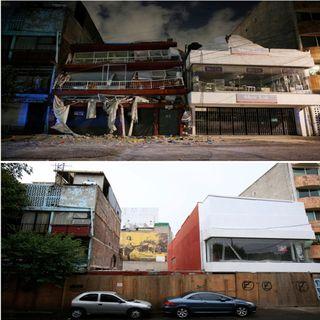 Edificios colapsados a consecuencia de la corrupción