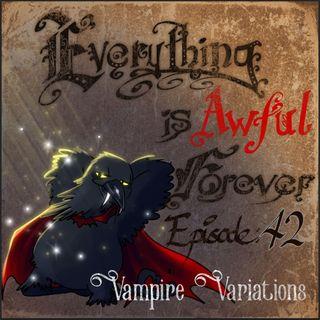 Halloween Special: Vampire Variations
