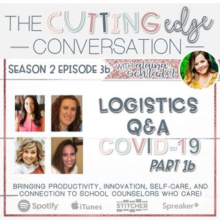 S2E3 [013b] Q&A, Logistics of a Virtual School Counselor- COVID 19 School Closure Pt. 1b