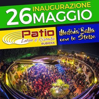 Radio Mariposa Presenta: Modena Balla con le Stelle al Patio Latino il 26 Maggio!!!