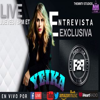 ENTREVISTA EXCLUSIVA YEIKA ALVAREZ EN FACE2FACE LIVE  Powered by THEMMTV STUDIOS