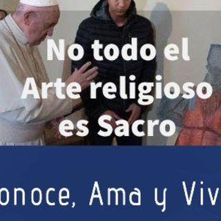 Episodio 162: 🎨 No todo el Arte religioso es Sacro 👩🎨 / Belén Indígena