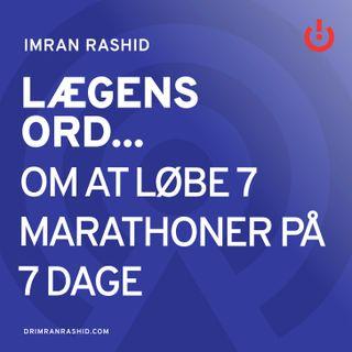 Kristina Schou Madsen - Om at løbe 7 marathoner på 7 dage
