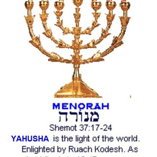 7 BRANCH MENORAH | SYMBOL of Our FAITH?