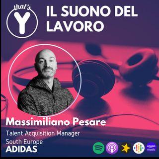 """""""Il Suono del Lavoro"""" con Massimiliano Pesare ADIDAS"""