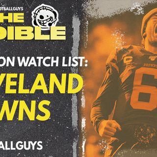 2021 Fantasy Football - Cleveland Browns Preseason Watch List
