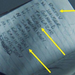 Bucky's Name List REVEALED
