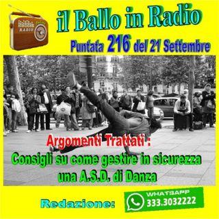 Il ballo in radio di Tony Mantineo n° 216