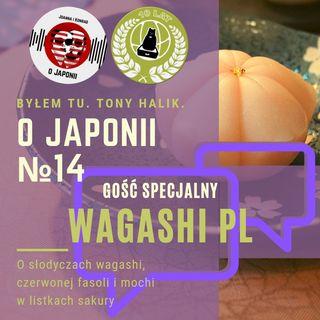 O Japonii №14 + Wagashi PL (o słodyczach wagashi, czerwonej fasoli i mochi w listkach sakury)