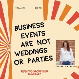 EPS 11 Business Event Is Not Wedding or Party