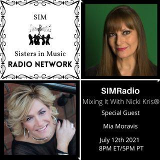 Mixing It with Nicki Kris - Award-Winning Producer, Singer, & Author Mia Moravis