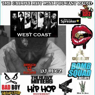 THE GROOVE HOT MIXX PODCAST RADIO DJ BUGZ WEST COAST