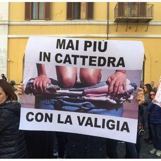 Riforma della buona scuola, intervento dell' On.Fassina e Sindacato ULMScuola a manifestazione docenti a Roma