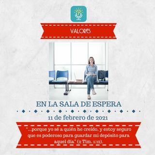 11 de febrero - En la sala de espera - Etiquetas Para Reflexionar - Devocional de Jóvenes