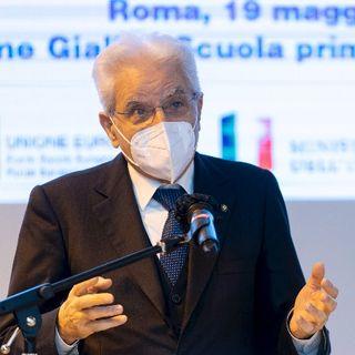 """Intervento del presidente Mattarella all'Istituto Comprensivo """"Fiume Giallo-Scuola Primaria Geronimo Stilton"""""""