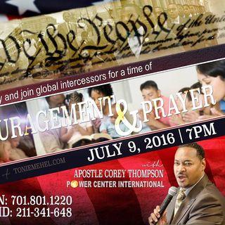 Apostle Corey Thompson | We the People