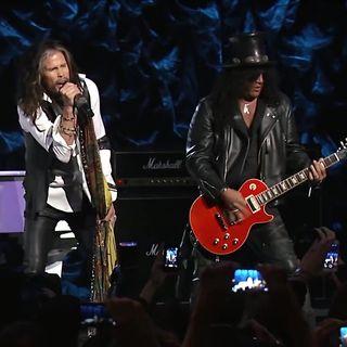 Dream On - Steven Tyler, Slash at the Howard Stern Birthday Bash