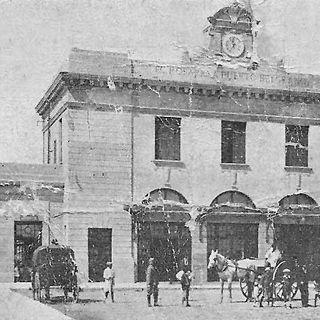 Ferrocarril Rosario Puerto Belgrano, camino a Bahía Blanca