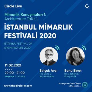 Mimarlık Konuşmaları 02 İstanbul Mimarlık Festivali 2020 / Selçuk Avcı & Banu Binat