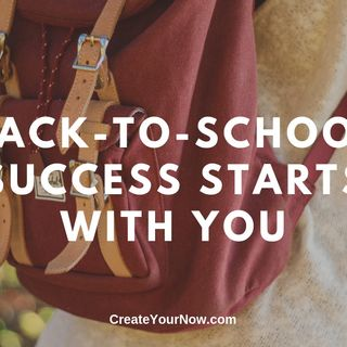 1686 Back-to-School Success Starts with You