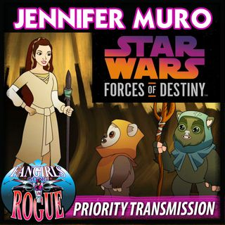 PRIORITY TRANSMISSION #6: JENNIFER MURO, Writer, Forces of Destiny