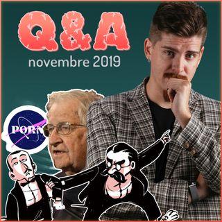 Domande Doppie, Tolkien & Nietzsche, Youtubers cestisti e molto altro - Q&A novembre 2019