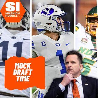 DVDD #091: SF-MIA Blocksbuster Trade | Broncos 7-Round Mock Draft | w/ GM Zach Segars