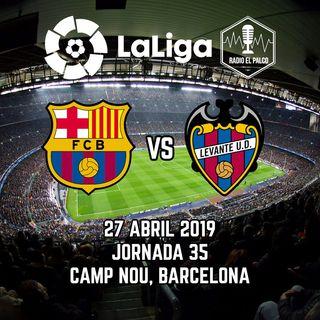 Barcelona vs Levante UD en VIVO