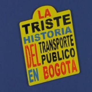 En 60 minutos, la historia del transporte público en Bogotá