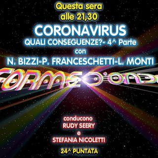 Forme d'Onda - Coronavirus: quali conseguenze? Parte 4 - Nicola Bizzi e Luca Monti - 24^ puntata (16/04/2020)